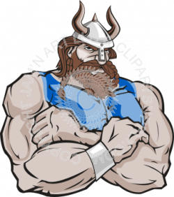 Viking clipart strong