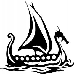 Norway clipart viking longboat