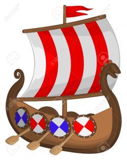 Caravel clipart viking longboat