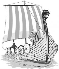 Norway clipart viking longship