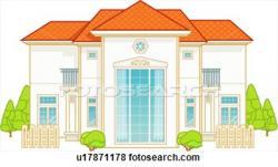 Villa clipart