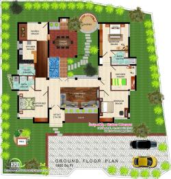 Villa clipart eco house