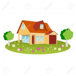 Old House clipart ranch house