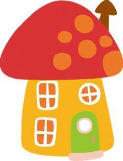 Mushroom clipart cottage
