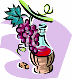 Vineyard clipart cartoon