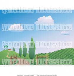 Farmland clipart landscape design