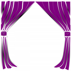 Curtain clipart pink curtain