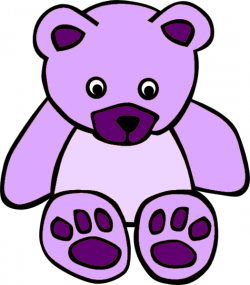 Teddy clipart simple