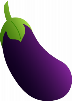 Eggplant clipart transparent