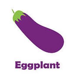 Eggplant clipart violet