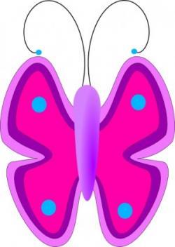 Papillon clipart graphic