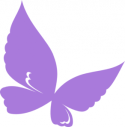 Butterfly clipart lilac