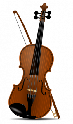 Violinist clipart classical music instrument