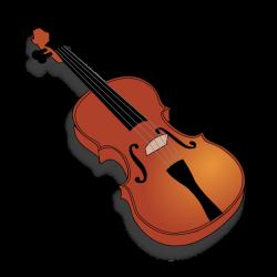 Violinist clipart string instrument