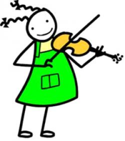 Violinist clipart