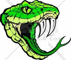 Python clipart snake face