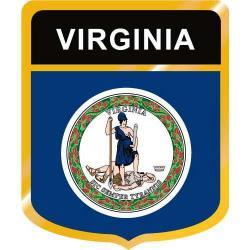 Virginia clipart Virginia Flag Clipart
