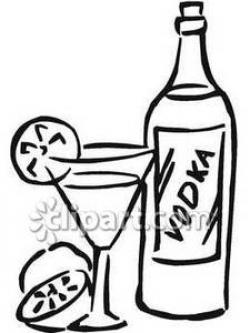 Alcohol clipart vodka