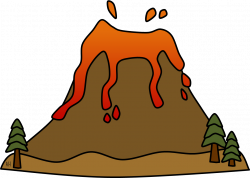Lava clipart landform