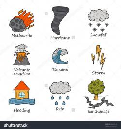 Disaster clipart natural hazard