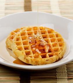 Waffle clipart honey