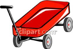 Cart clipart little red wagon