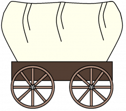 Wild West clipart pioneer wagon
