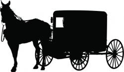 Carriage clipart amish