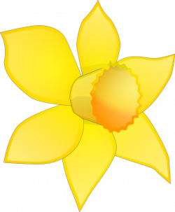 Daffodil clipart cartoon