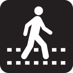 Walkway clipart pedestrian