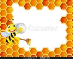 Honeycomb clipart cartoon