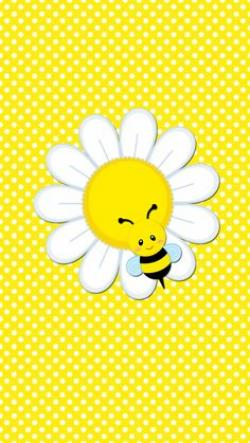 Wallpaper clipart bee
