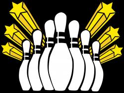 Bowling clipart bowling lane