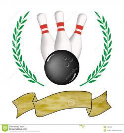 Bowling clipart winner