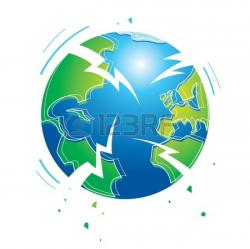 Apocalypse clipart earth