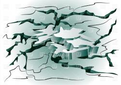 Earthquake clipart background