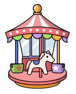 Carousel clipart drawing
