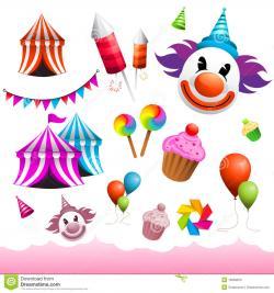 Carneval clipart fairground