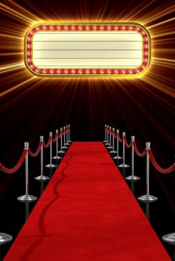 Red Carpet clipart background
