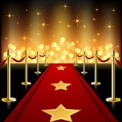 Red Carpet clipart hollywood theme