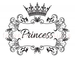 Elegance  clipart princess crown