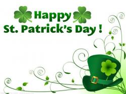 St. Patrick's Day clipart St Patricks Day Background Clipart