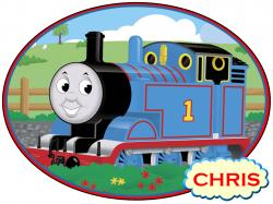 Thomas The Tank Engine clipart tom