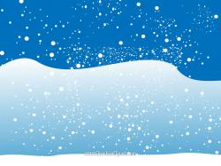 Snowfall clipart winter background