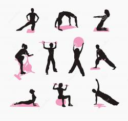 Pink clipart fitness