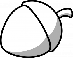 Hazelnut Clipart Black And White