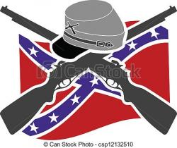 Civil War clipart drawing
