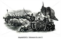 Battlefield clipart black and white