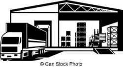 Warehouse clipart
