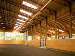 Warehouse clipart horse barn
